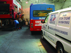 Remove and Refit Bus Coach