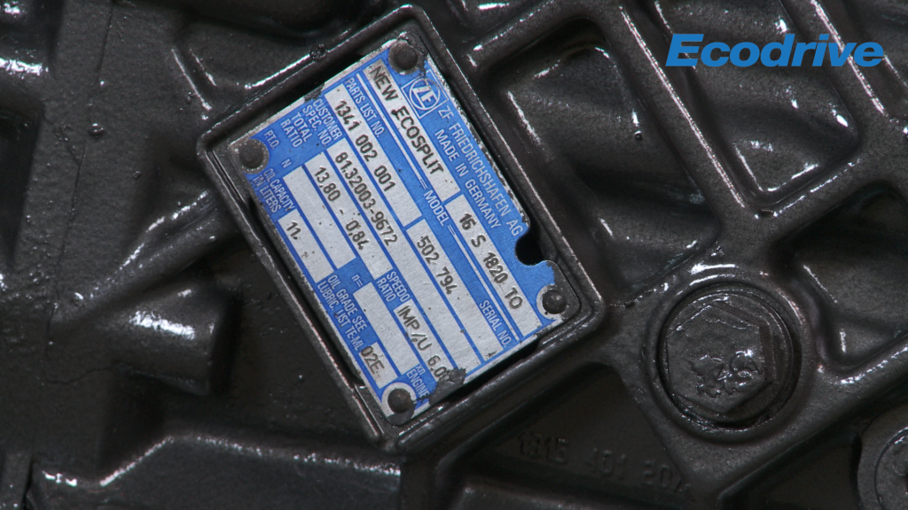 How to read a ZF ID plate | Ecodrive Transmissions