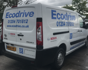 new van for support engineer